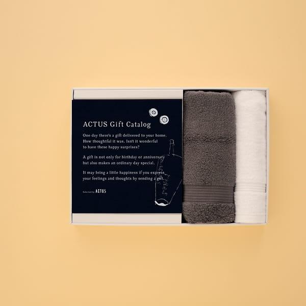 ACTUS(アクタス) ギフトカタログ <Edition M_B>+AYUR タオルセット