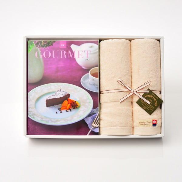 グルメカタログギフト Gourmet <GC>+今治フェイスタオルセット
