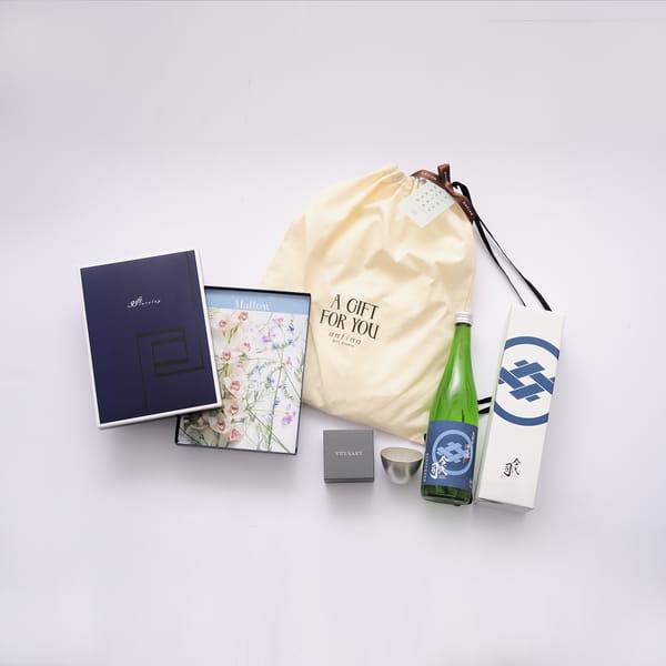 2021父の日限定セットC1 (Mistral マロウ+純米酒今代司720ml+ぐい呑+バッグ)※6/17以降のご注文は6/21以降にお届けになります。