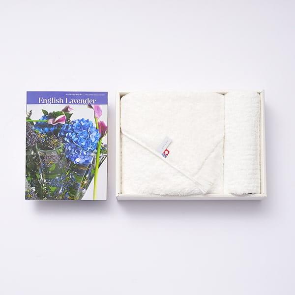 選べるギフト Mistral(ミストラル) <English Lavender(イングリッシュラベンダー)>+antina今治タオルセット