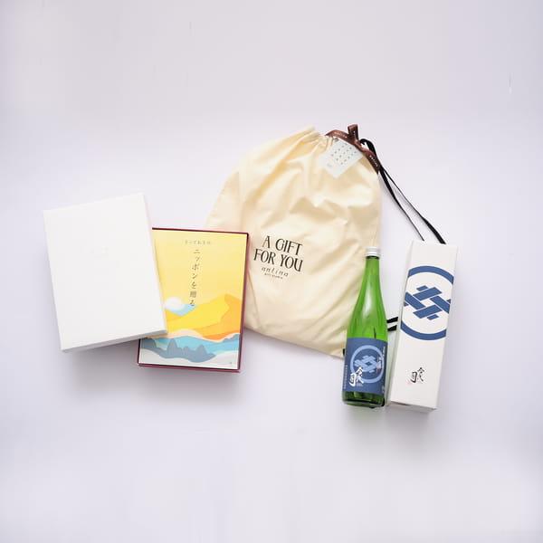 2021父の日限定セットA2 (とっておきのニッポンを贈る 栄+純米酒今代司720ml+バッグ)※6/17以降のご注文は6/21以降にお届けになります。