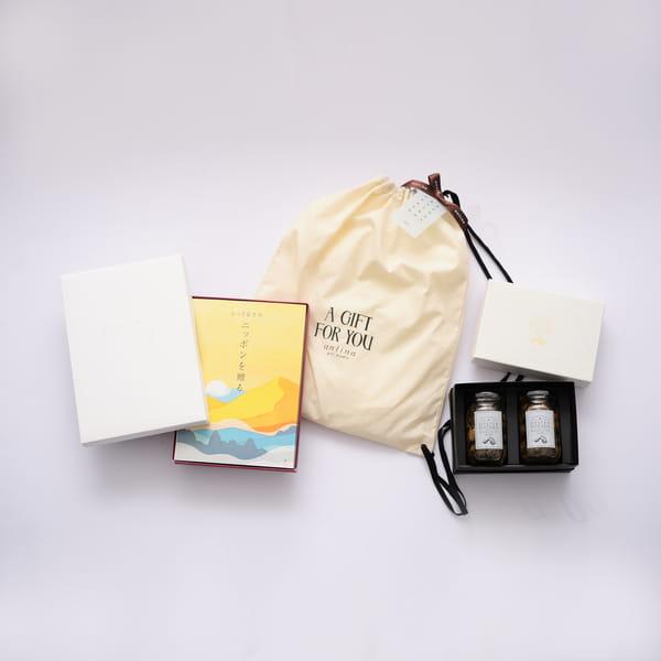 2021父の日限定セットB2 (とっておきのニッポンを贈る 栄+牡蠣オリーブオイル漬け 2種セット+バッグ)※6/17以降のご注文は6/21以降にお届けになります。