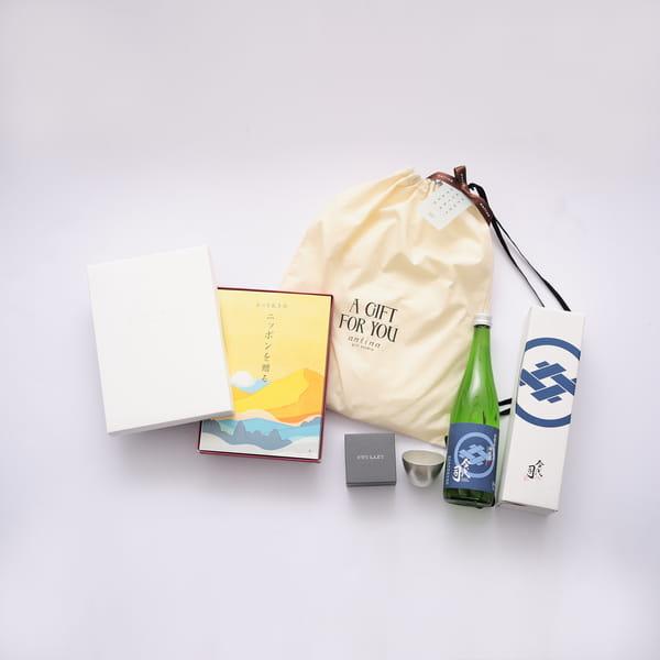 2021父の日限定セットC2 (とっておきのニッポンを贈る 栄+純米酒今代司720ml+ぐい呑+バッグ)※6/17以降のご注文は6/21以降にお届けになります。