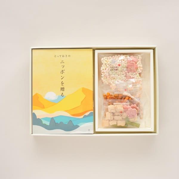 とっておきのニッポンを贈る <栄(さかえ)>+鞍馬庵 / 京 干菓華子