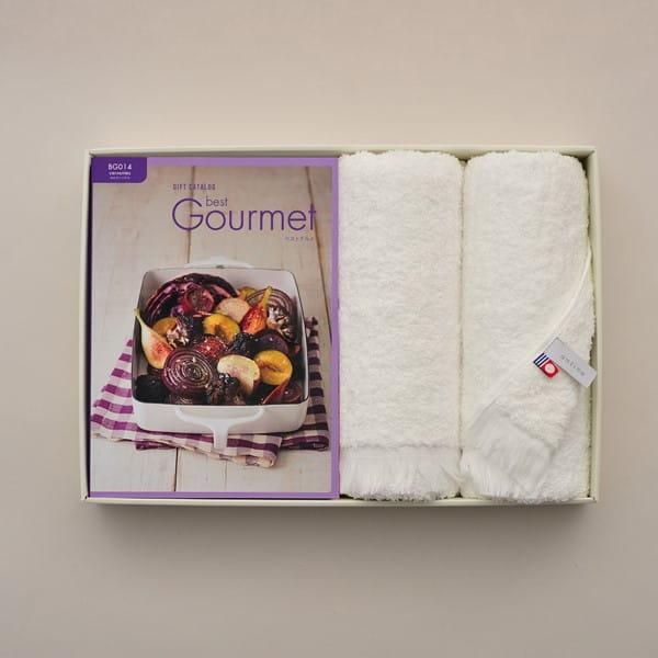 グルメカタログギフト Best Gourmet <BG014 セルヴァンテス>+今治フェイスタオルセット