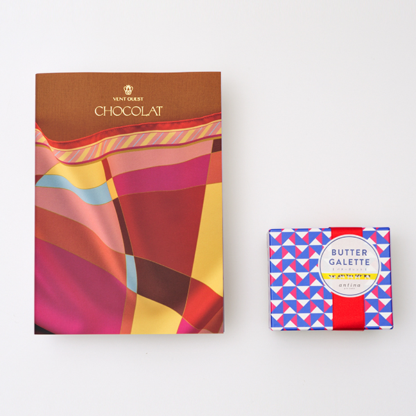 VENT OUEST(ヴァンウェスト) ギフトカタログ <CHOCOLAT(ショコラ)>+バターガレットセット