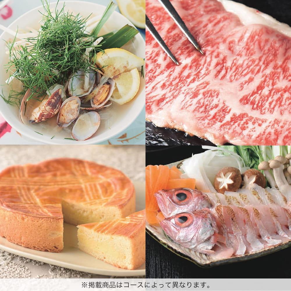 選べるギフト 沙羅(さら) <百日草(ひゃくにちそう)>+今治フェイスタオルセット