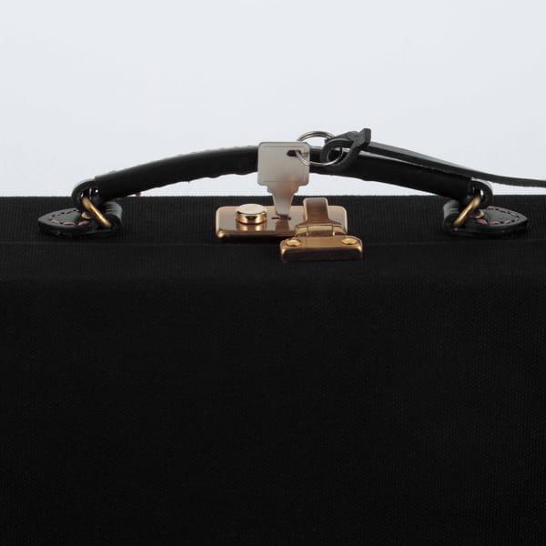 豊岡鞄 セカンドケース(黒)