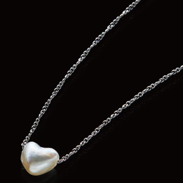 アコヤ真珠 / ハート型ネックレス