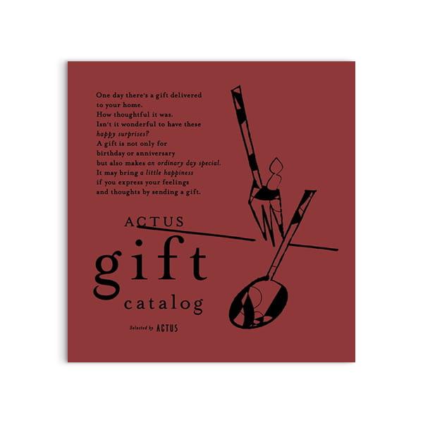 ACTUS(アクタス) ギフトカタログ <Bordeaux(ボルドー)>