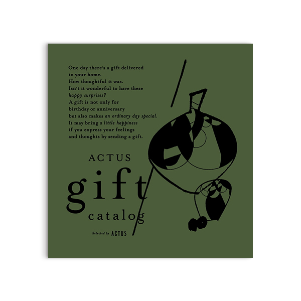 ACTUS(アクタス) ギフトカタログ <Olive(オリーブ)>