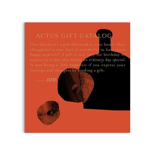 ACTUS(アクタス) ギフトカタログ <Vermilion(ヴァーミリオン)>