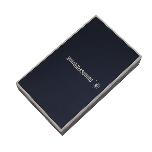 ミハラヤスヒロ / あぶり出し手帳カバー(ブラック)