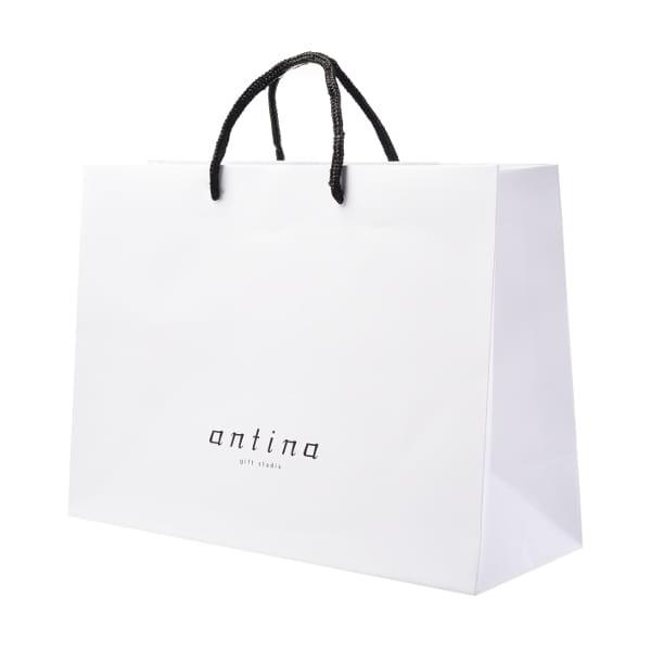 antina / ショッピングバッグM-2 (幅39.5×マチ15×高さ29cm)