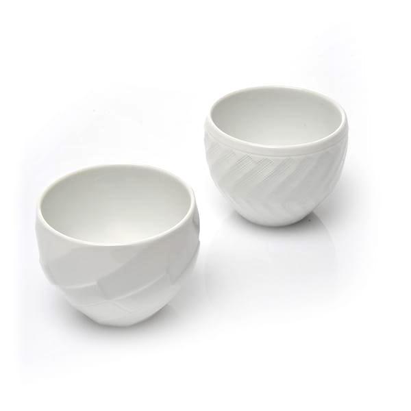 一真陶苑 / 波佐見焼 丸カップ 2個セット
