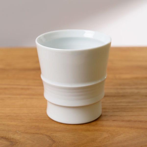波佐見焼 和山 ロープカップ 白磁