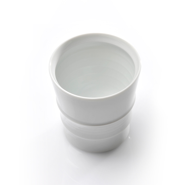 和山 / 波佐見焼 ロープカップ 白磁
