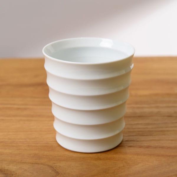 波佐見焼 和山 レインボーカップ 白磁