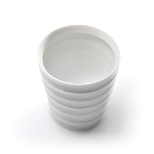 和山 / 波佐見焼 レインボーカップ 白磁