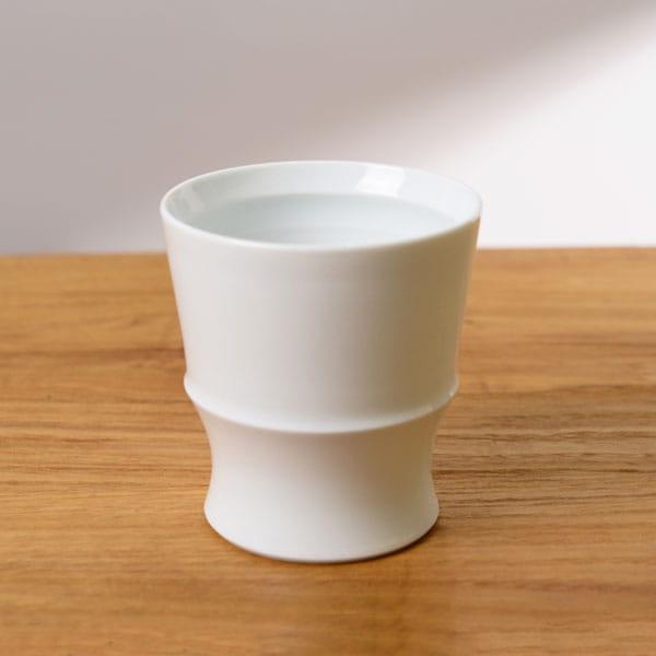 波佐見焼 和山 シングルカップ 白磁