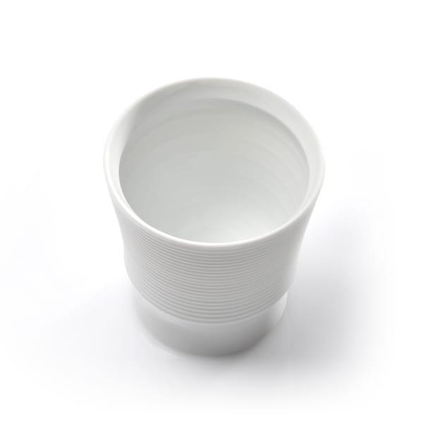 和山 / 波佐見焼 ボーダーカップ 白磁