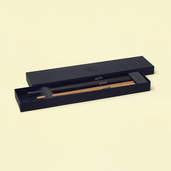 MARUNAO / 八角箸 夫婦箸セット(黒檀・鉄木)