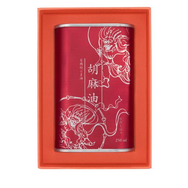 有機白胡麻油 250ml(BOX付)