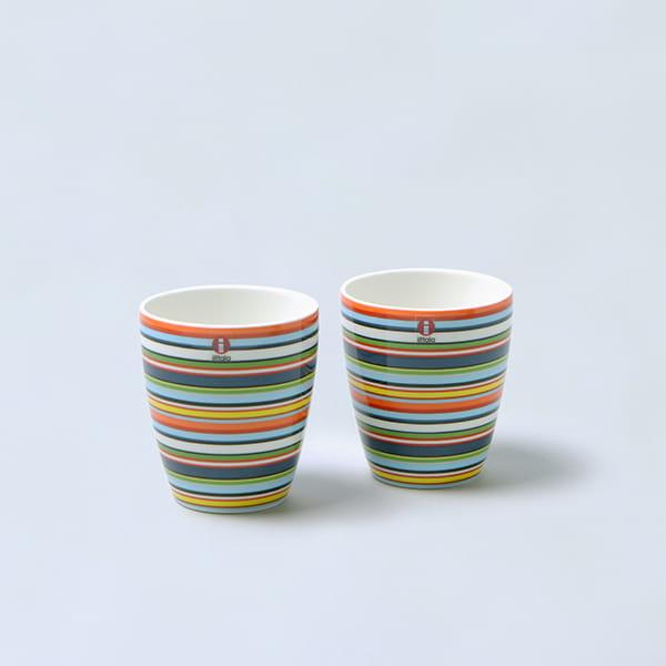 iittala / オリゴ マグカップペアセット(オレンジ)