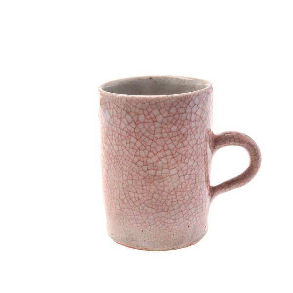 蔵珍窯 / 朱 貫入 コーヒーカップ