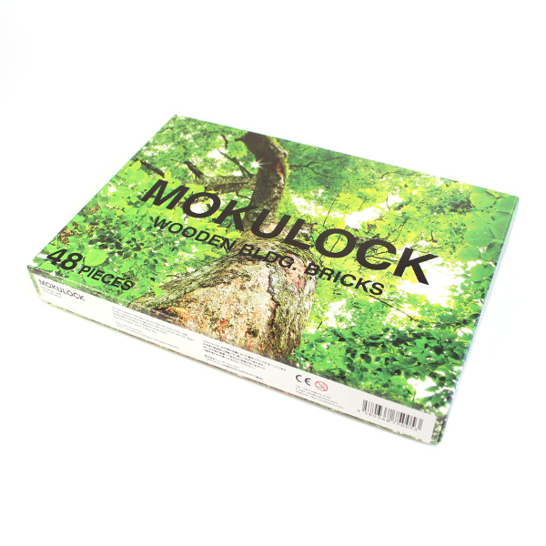 MOKULOCK / 木製ブロック(48ピース)