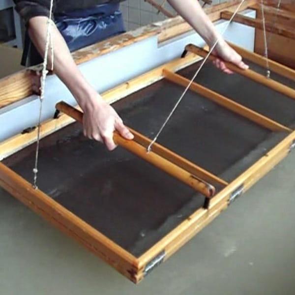 美濃和紙 水うちわ 小判型(カワセミ)