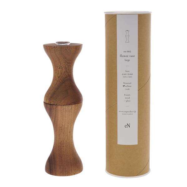 eN / flower vase(eN-002large ウォールナット)