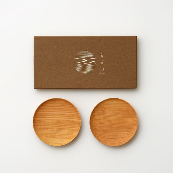 WDH / 山桜ノ木皿(取皿)