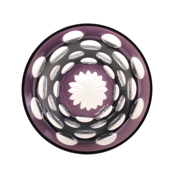 中金硝子 / ぐい呑みmizutama紫