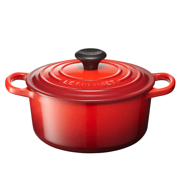 LE CREUSET / シグニチャー ココット・ロンド(18cm/チェリーレッド)