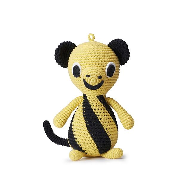 リトルファント / メロディソフトトイ MONKEY-Yellow/black