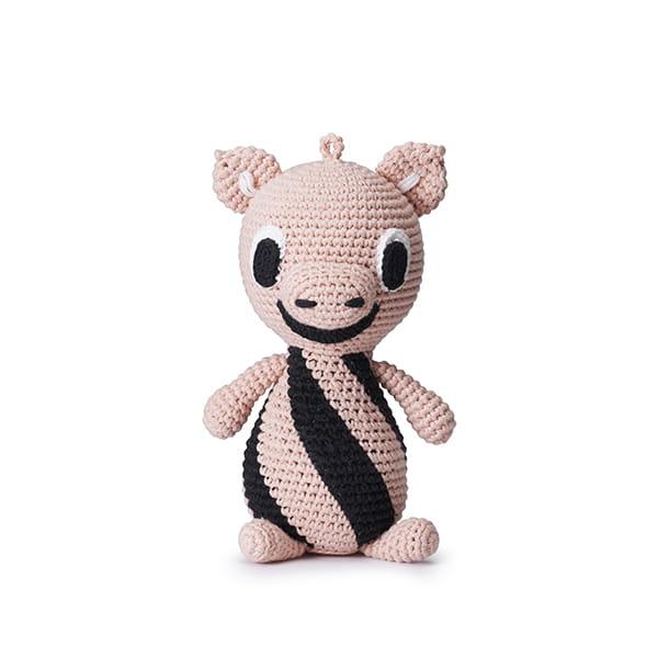 リトルファント / メロディソフトトイ Piggy-Pink/black