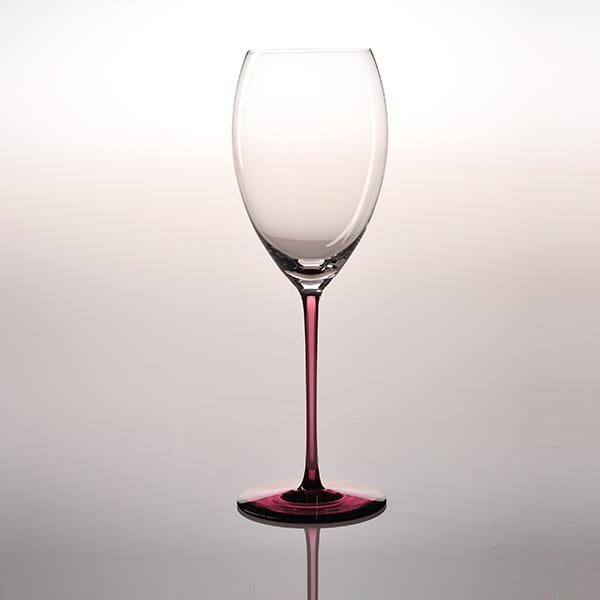 Sghr スガハラ / リジカーレ ワイングラス ワインレッド