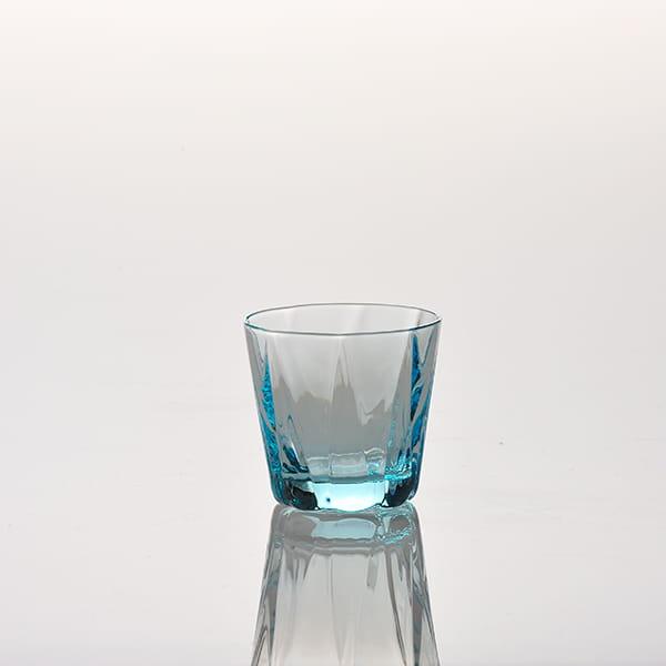 Sghr スガハラ / dia 酒グラス ブルー