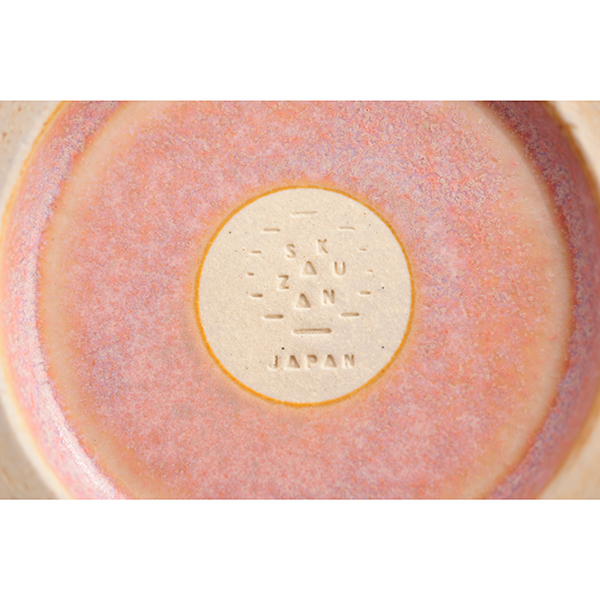 antina×作山窯 / プレート23cm ピンク