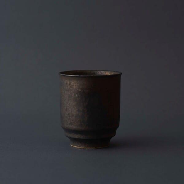 WDH / 湯呑 金泥釉 茶