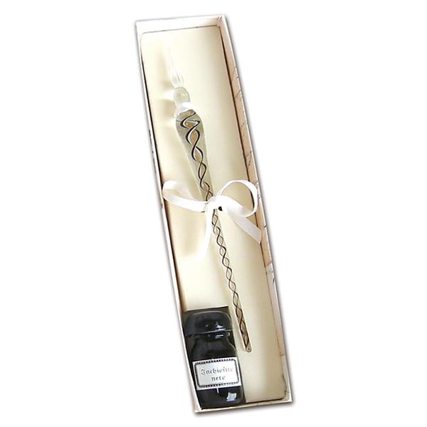RUBINATO(ルビナート) ALFガラスペンインクセット(white)