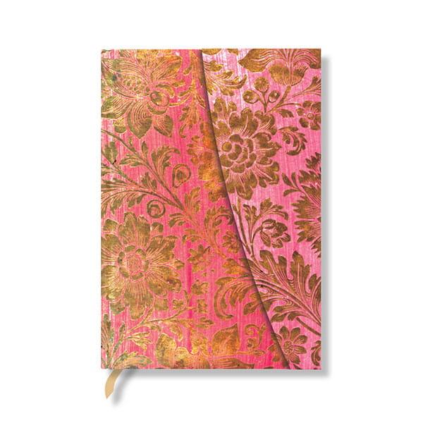paperblanks(ペーパーブランクス) 金襴の花(ミディ)