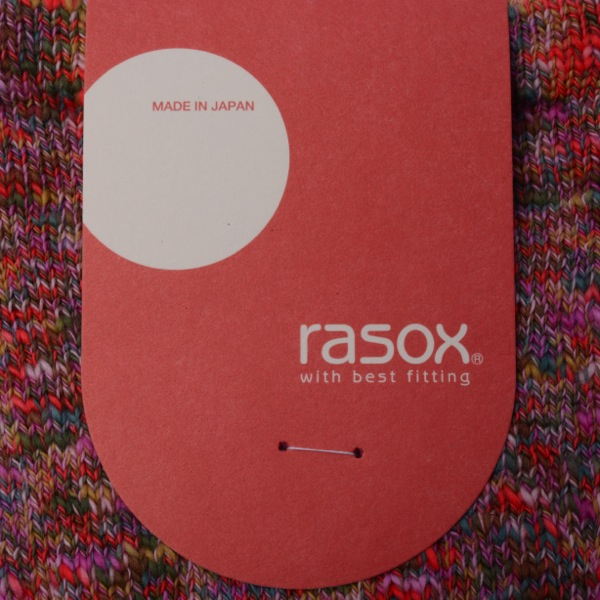rasox×antina / L字型靴下23~25cm(ピンク) [ギフトBOX入り]