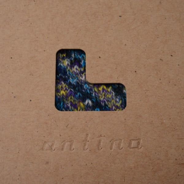 rasox×antina / L字型靴下25~27cm(ブルー) [ギフトBOX入り]