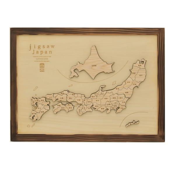 吉備ワークホーム / 木製パズル ジグソーJAPAN