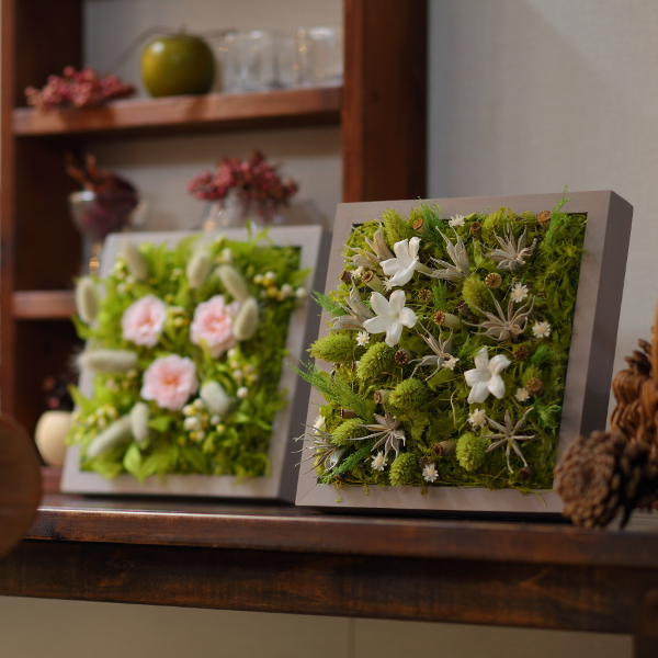 Grart / プリザーブドグリーンアート Garden WILD ROSE