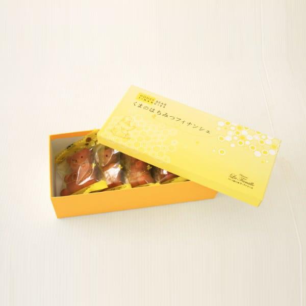 ラ・ファミーユ / くまの蜂蜜フィナンシェ 5個入