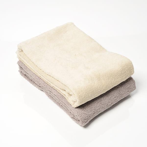 今治タオル COLOR BASICバスタオルセット(グレー/ベージュ)