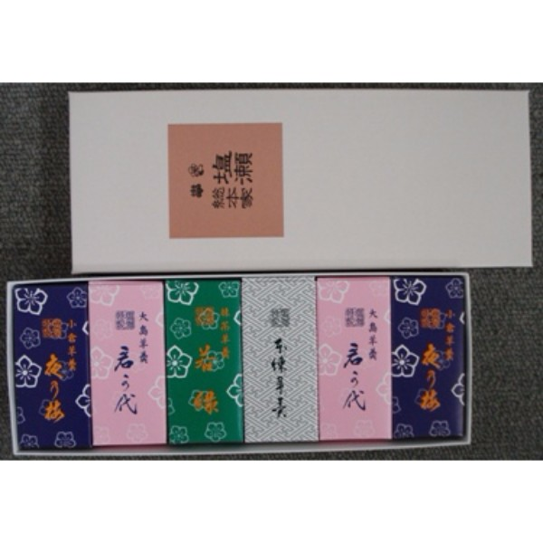 塩瀬総本家 / 姫羊羹(6本入)